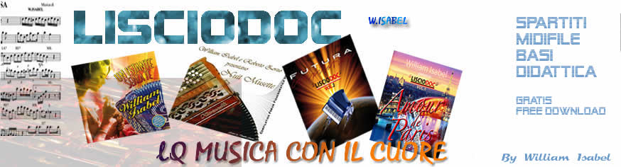 LISCIODOC - Spartiti Midifile Basi Musica da Ballo per Dj, Orchestre Pianobar - Download Gratuito Free - Accordion - Accordeon